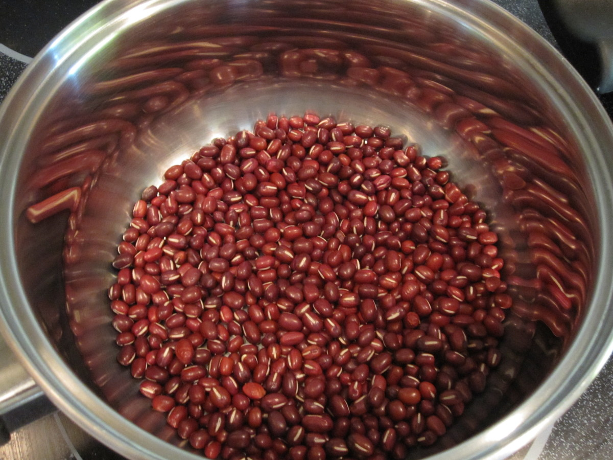 how to make red bean paste from canned red beans