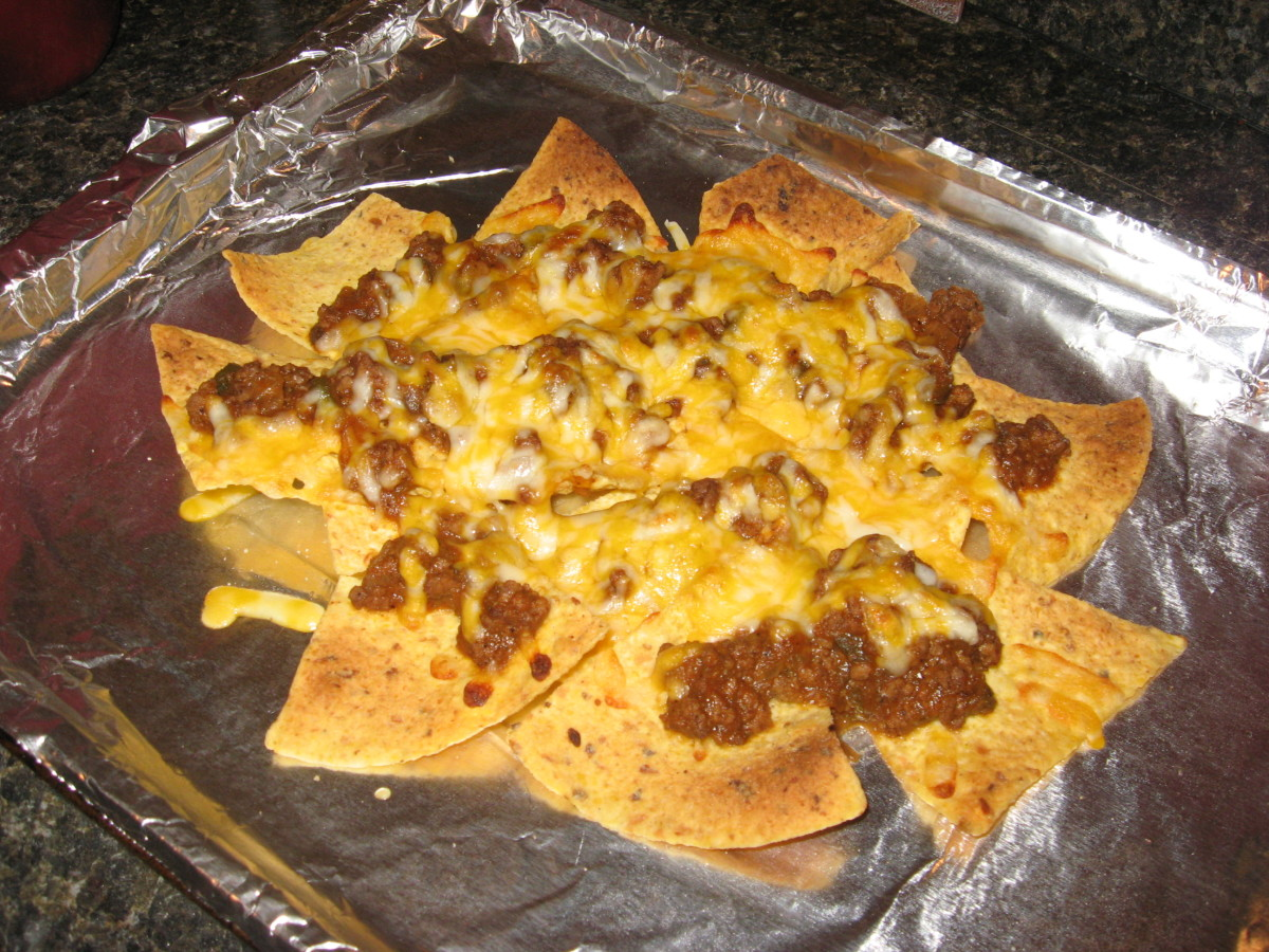 Use leftovers for nachos.
