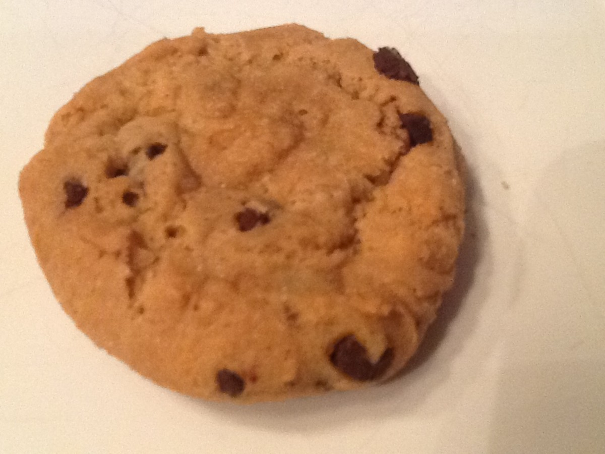 Immaculate Baking Company's ready-to-bake chocolate chip cookies.