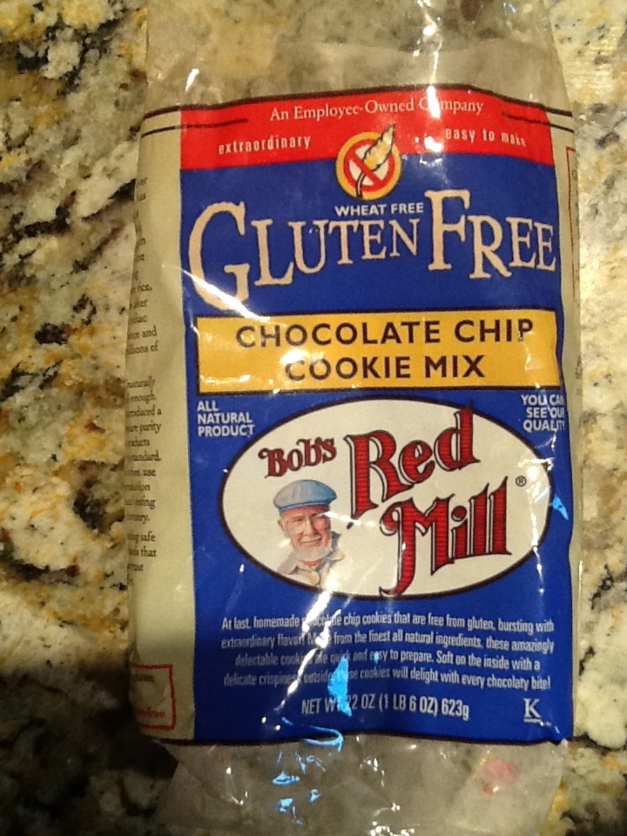 Bob's Red Mill Gluten Free Chocolate Chip Cookie Mix produces excellent homemade cookies.