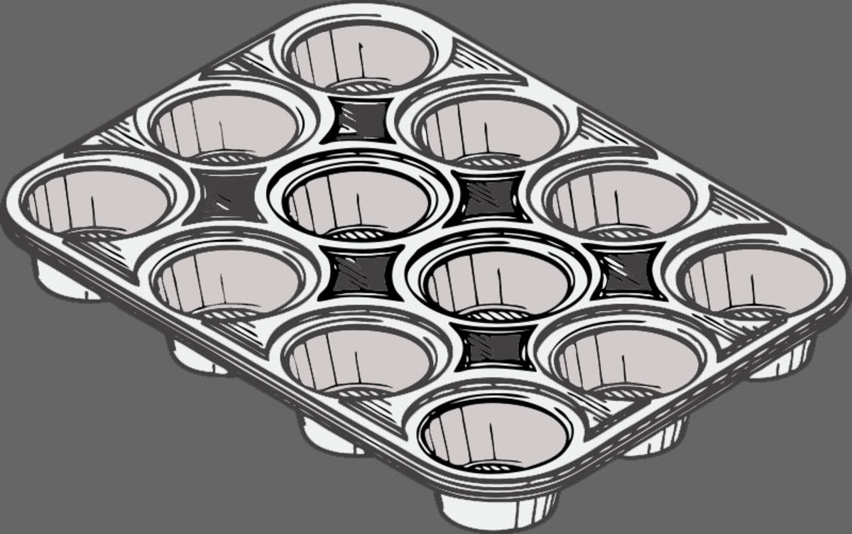 Muffin pans have a lot to do with perfect muffins.  Size matters so use the right amount of dough for the size muffin you make.