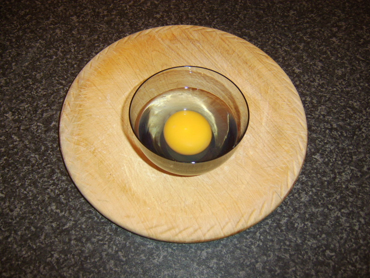 Fresh duck egg