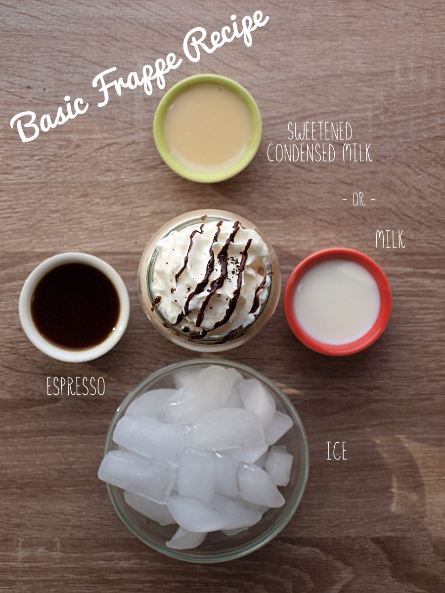 This is a basic Starbucks copycat frappe recipe. It's really easy to modify this recipe to fit your tastes.