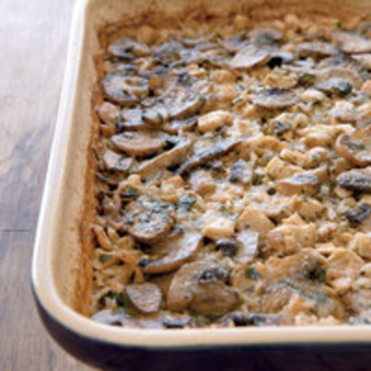 Chicken Marsala and Mushroom Casserole