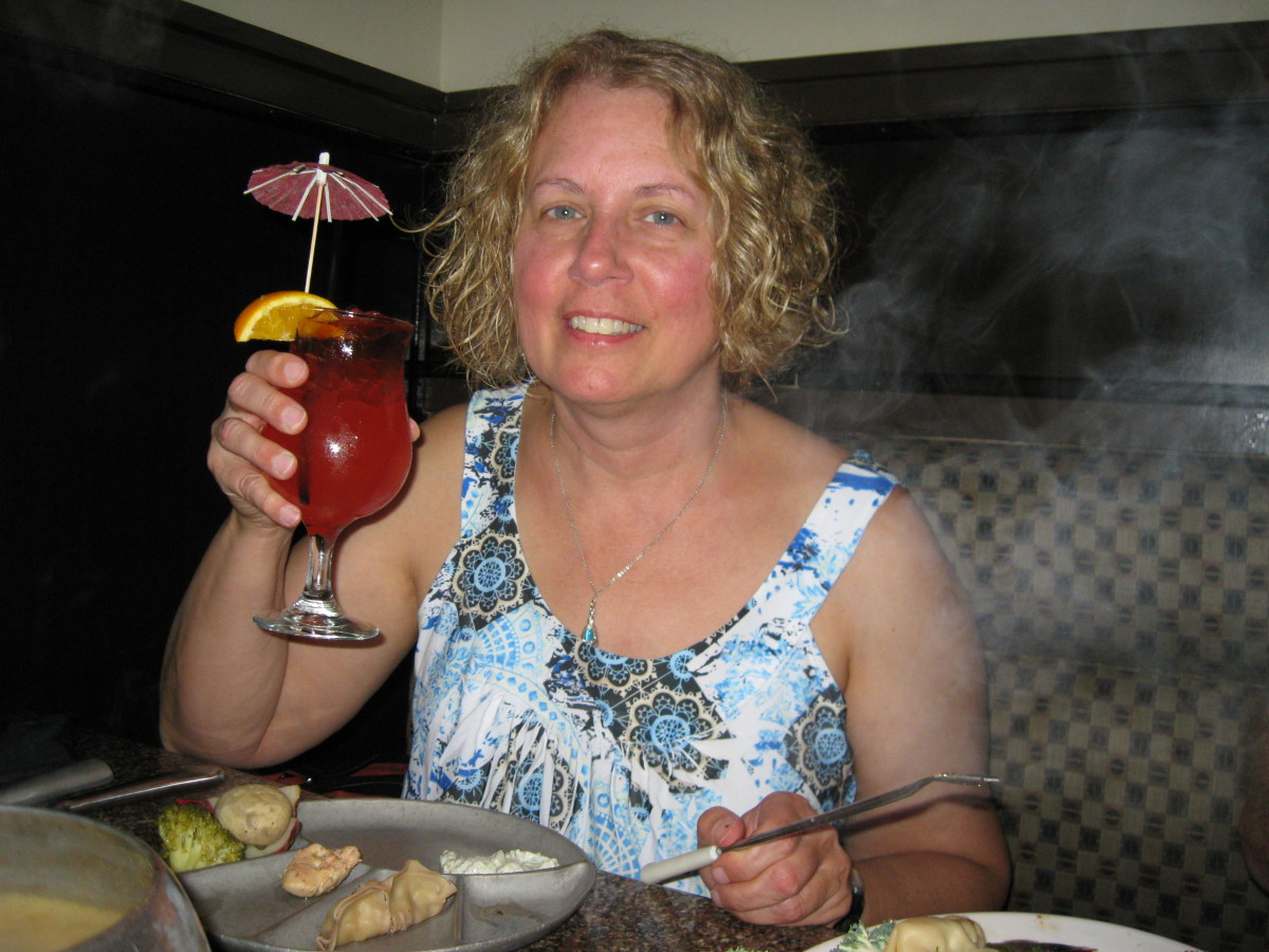 The Melting Pot provides a variety of drinks.