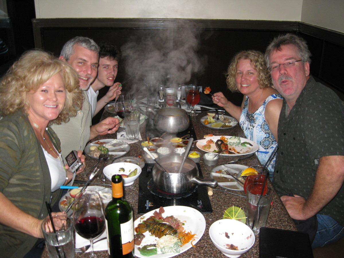 Celebrations are fun at the Melting Pot