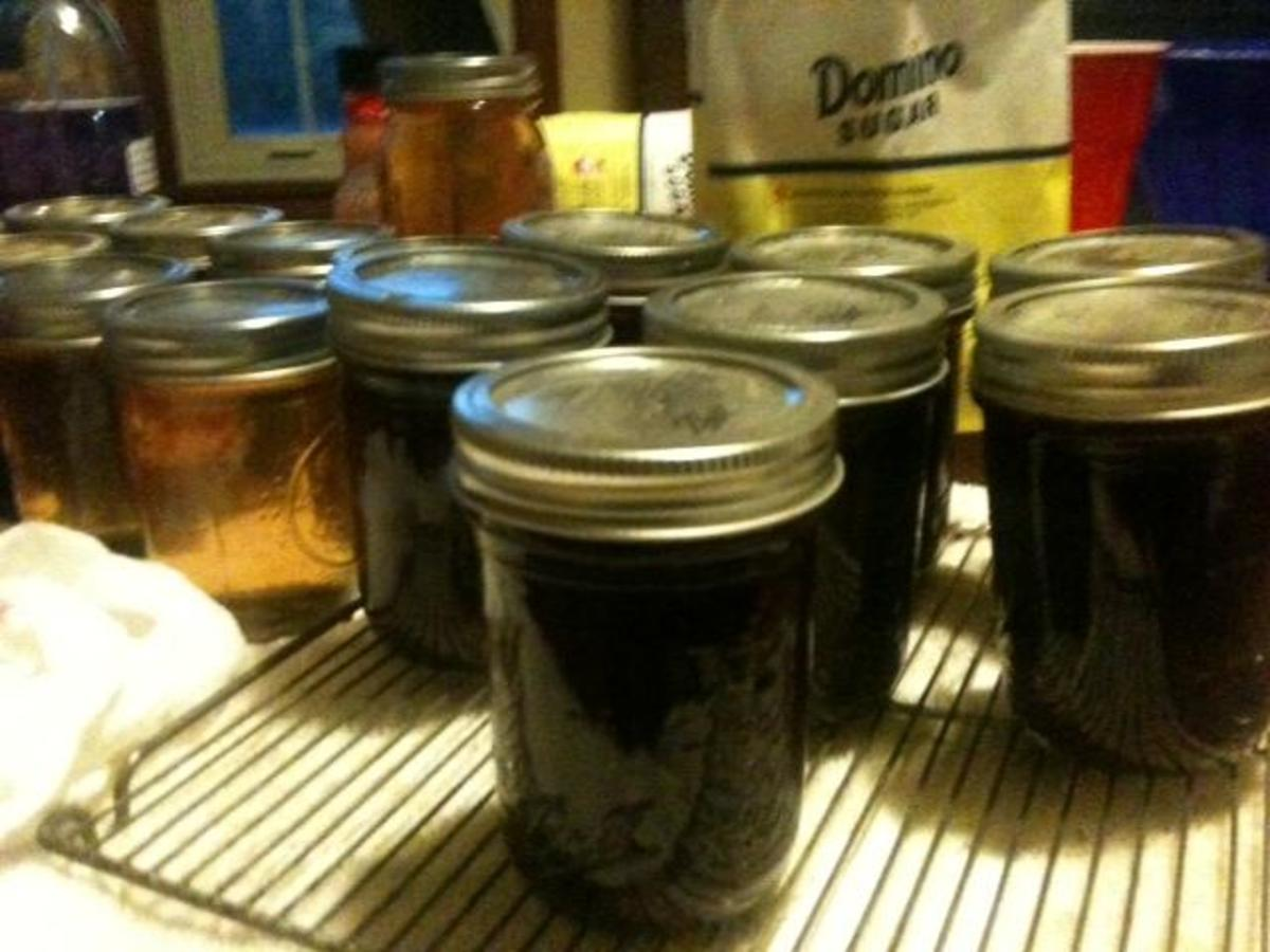 Allow the jars to cool for 24 hours so they can seal.