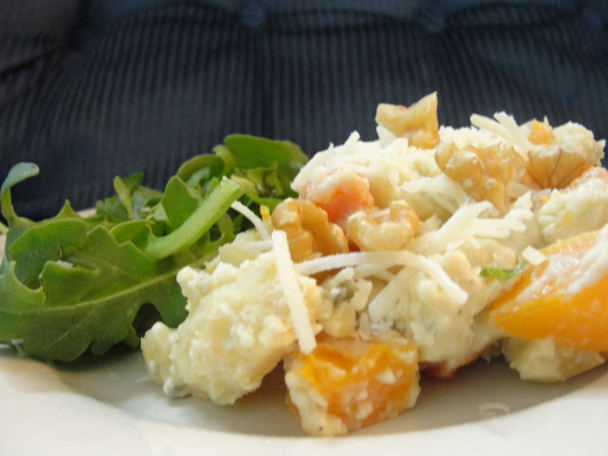potato-gnocci-with-roasted-squash-and-gorgonzola