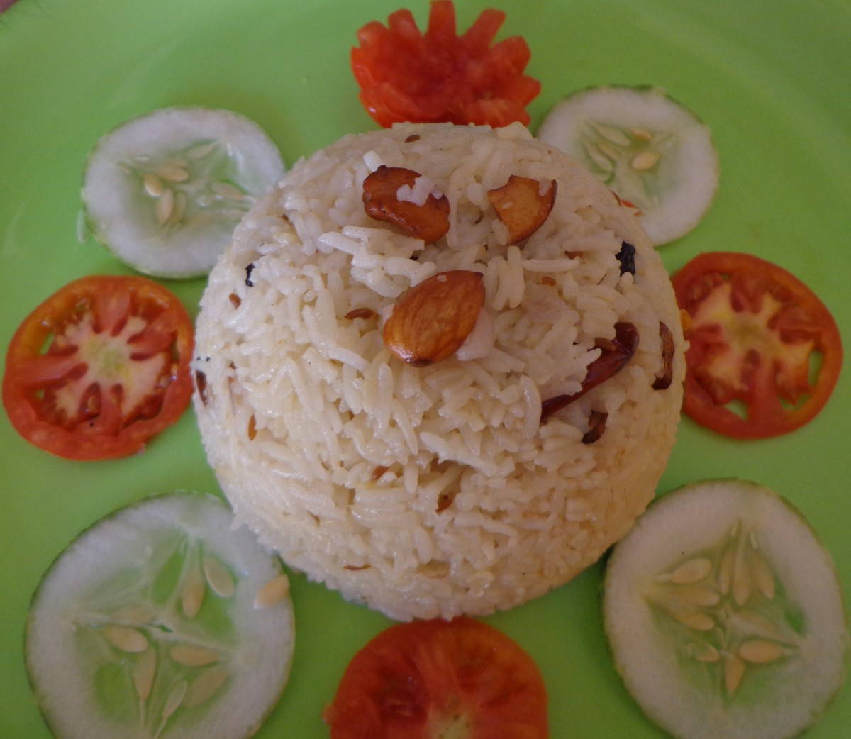 Hot and tasty Ghee Rice
