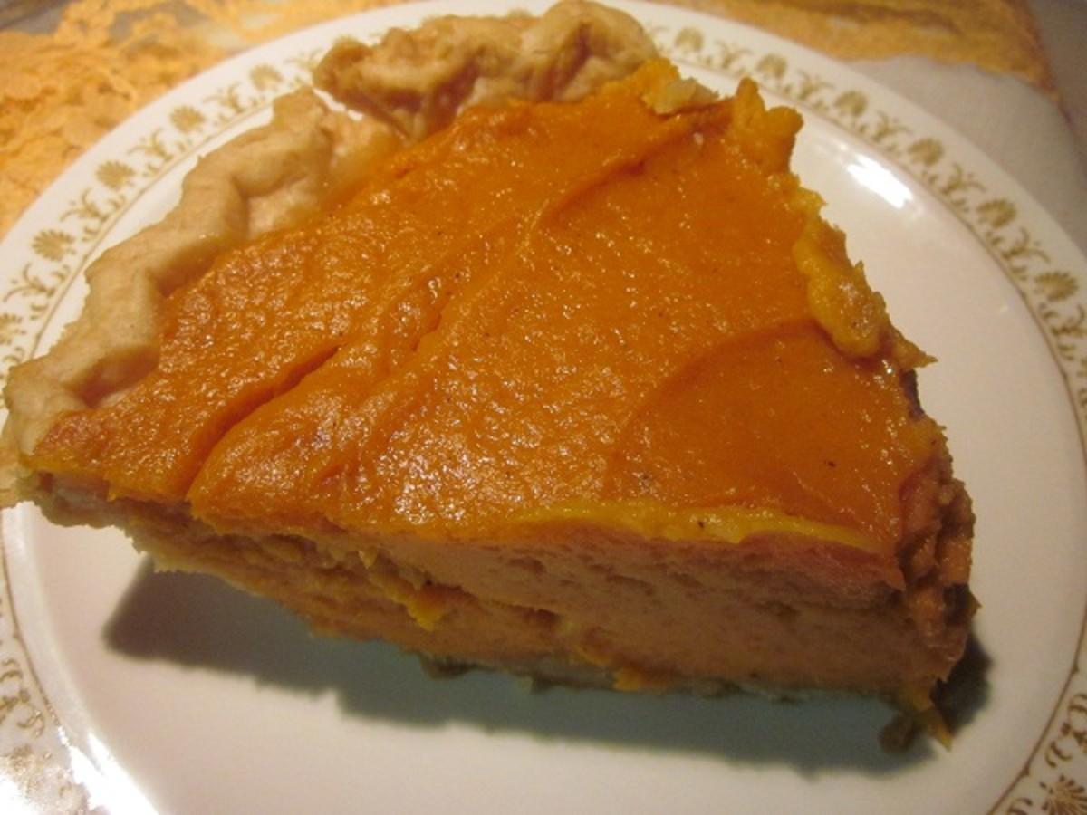 Sweet potato pie ready