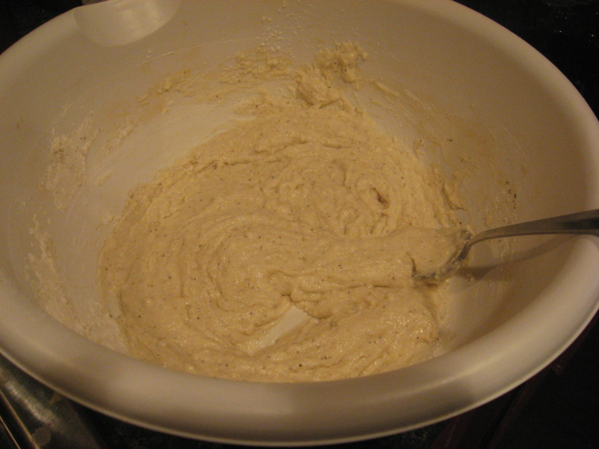 Make the basic batter.