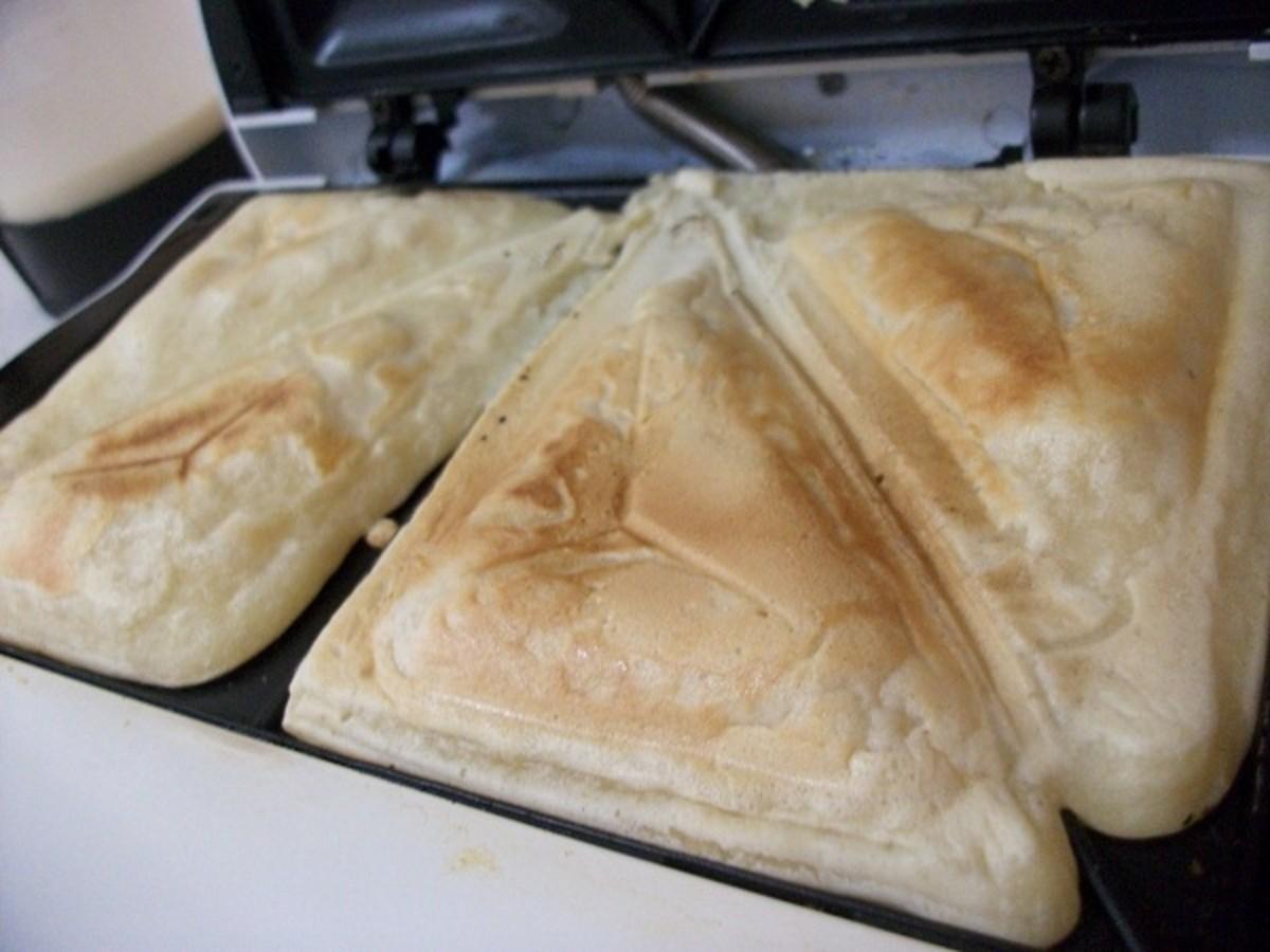 Voila! Square pancakes!