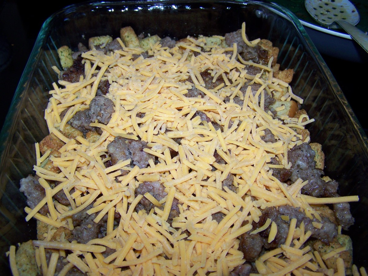 Top with cheese.