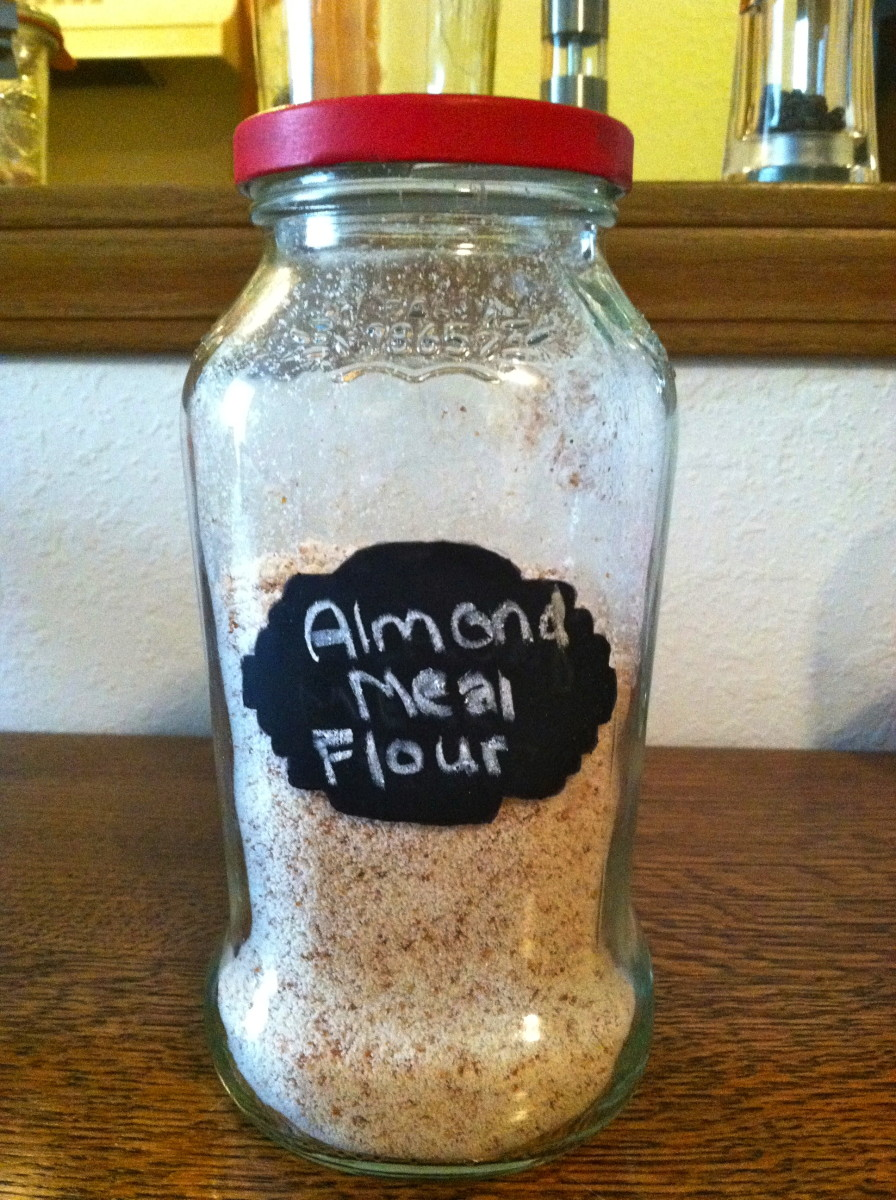 A great alternative to paying for almond flour is to make homemade almond flour. It's easy and you make your own almond milk in the process.