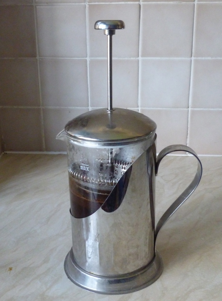 The French press allows you to make excellent coffee very simply.