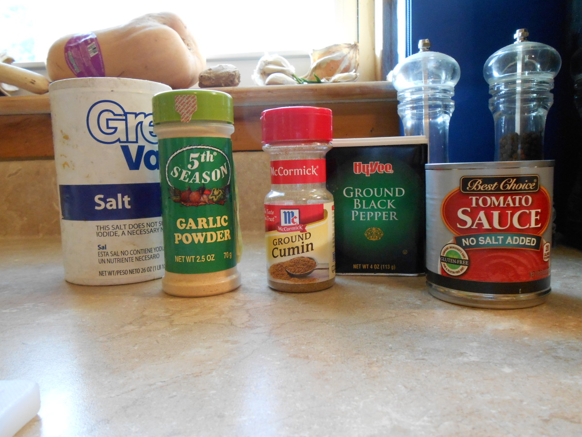 The wonderful flavor and aroma of Spanish rice comes from this mixture of spices: salt, garlic powder, ground cumin, black pepper, and tomato sauce.