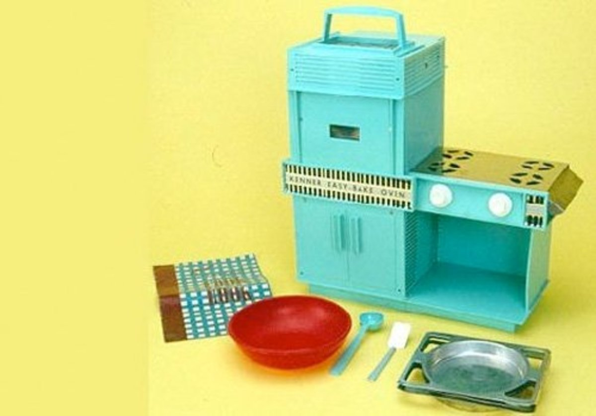 This is an old version of the Easy-Bake Oven.