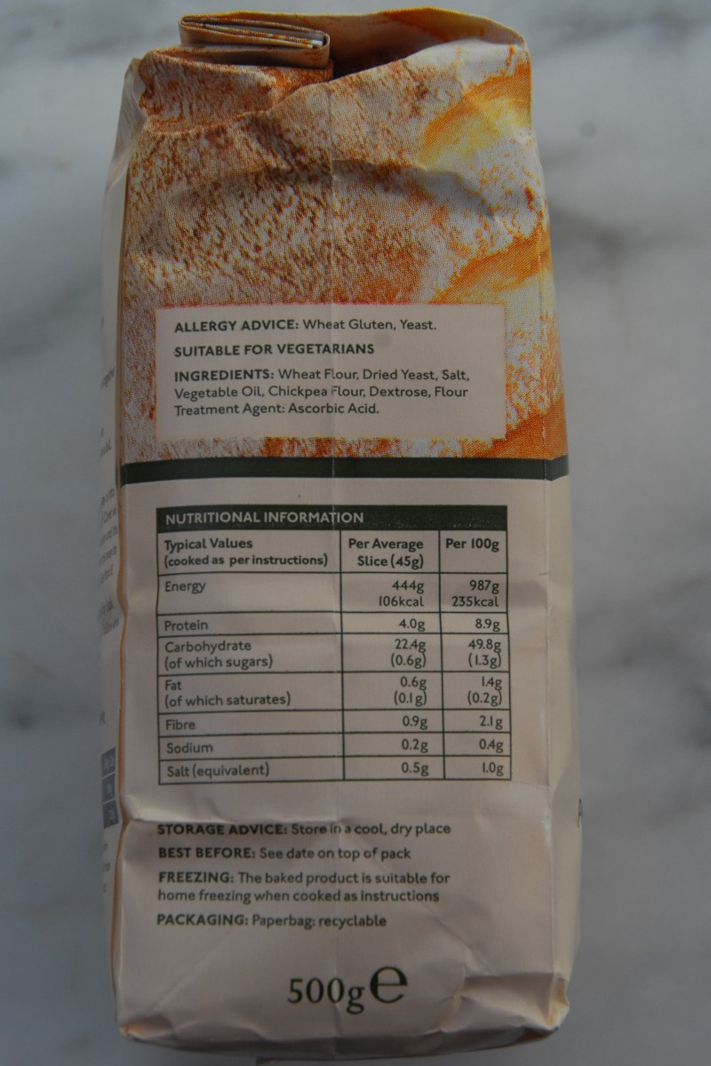 Allergy advice for Wright Premium Bread Mix