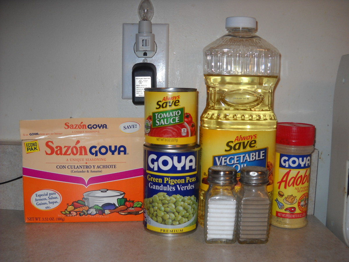 The ingredients for the meal.