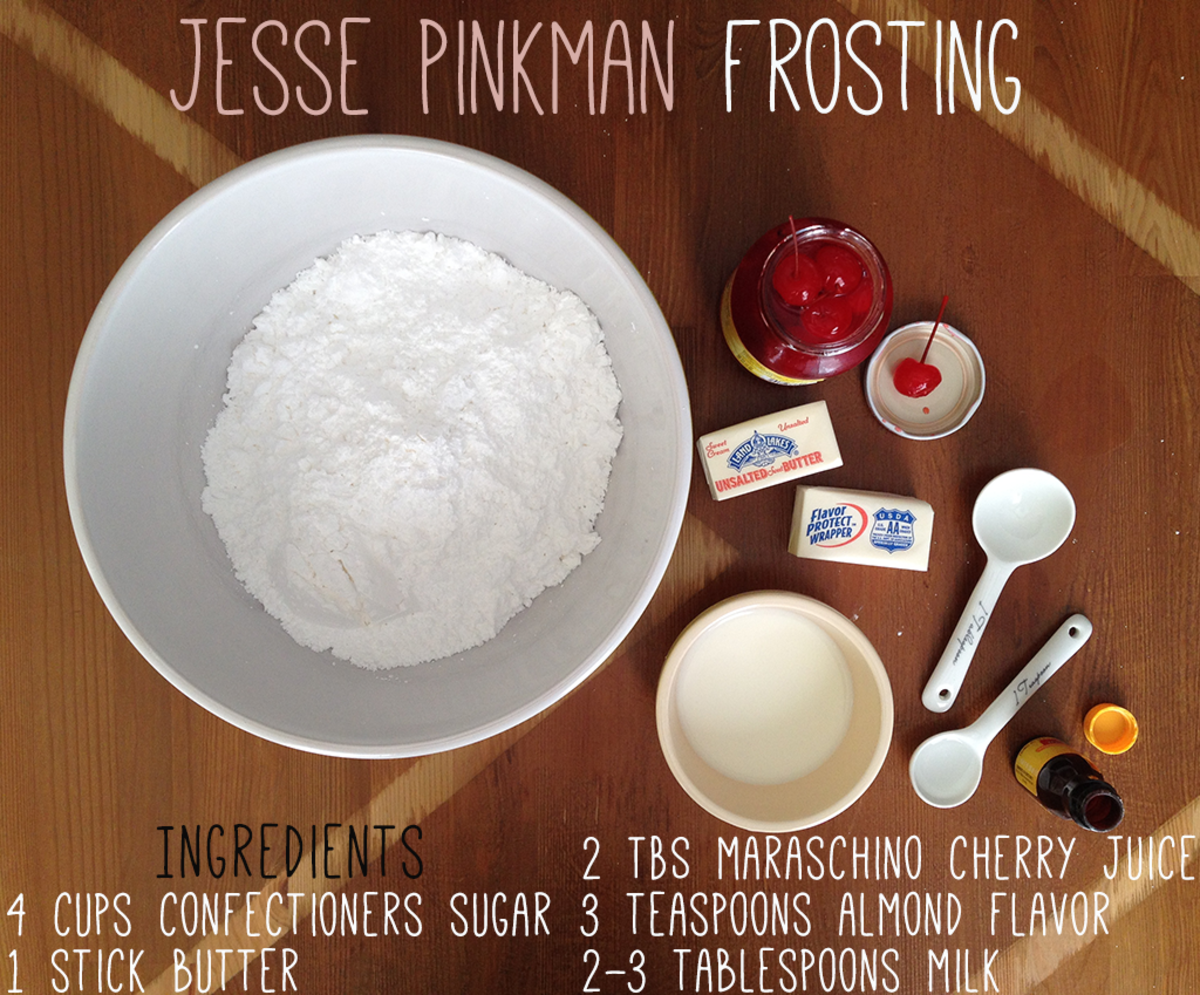 Icing Recipe for Cupcakes