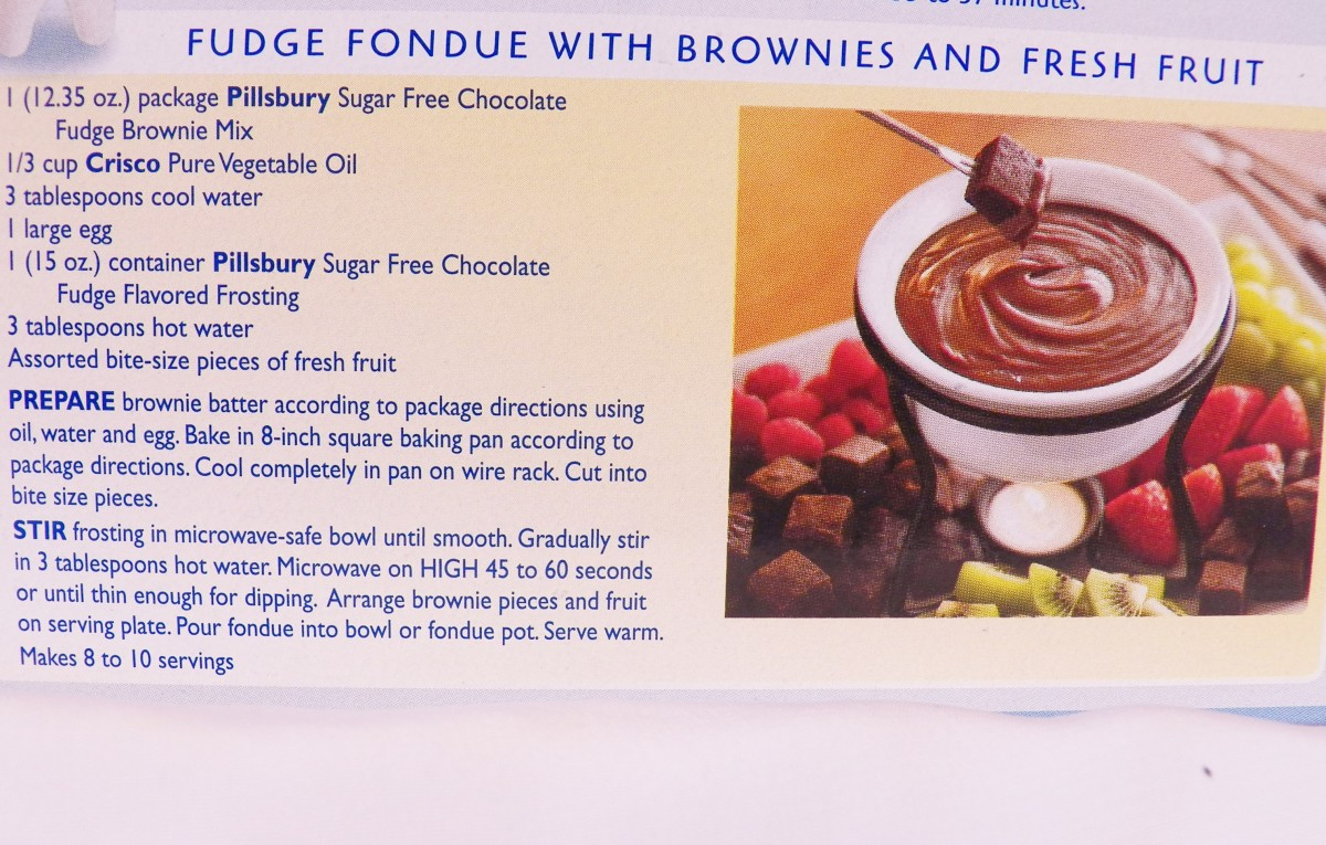 Great fondue recipe idea.