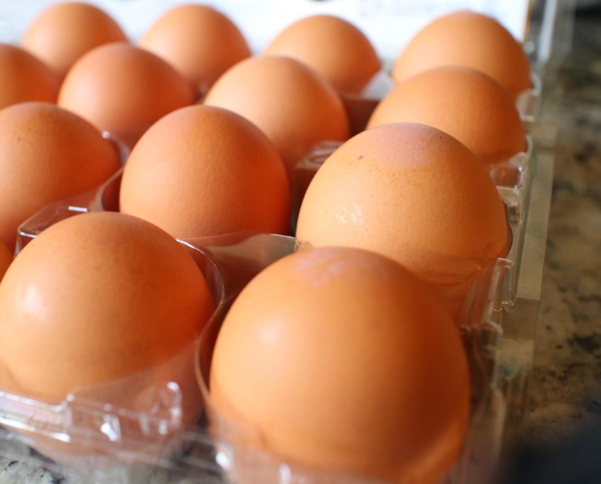 Pastured eggs.