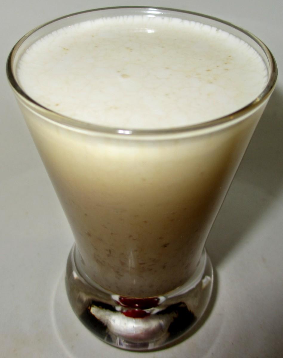 The Pudding Shot (~15% EtOH).