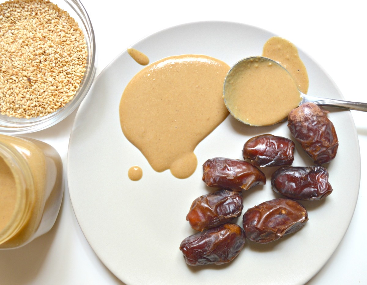 Have you tried sesame butter with date fruit? It's an amazing combination enjoyed in countries like Tunisia!