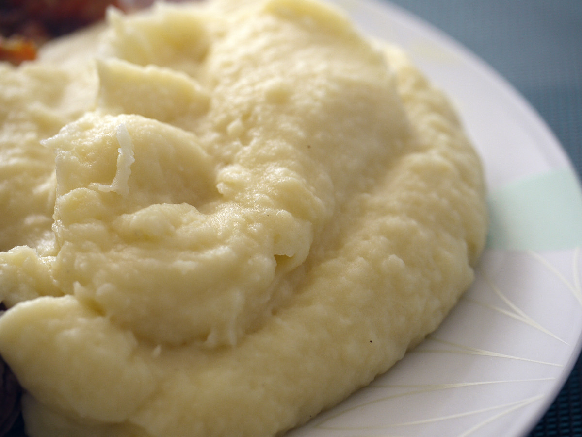 Your mashed potatoes are sticky