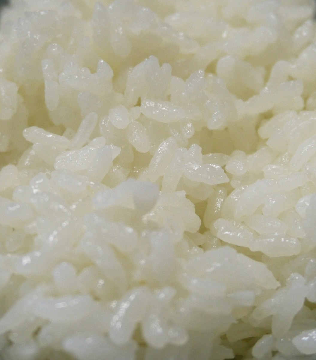 Your rice is crunchy or gluey (under- or over-cooked)
