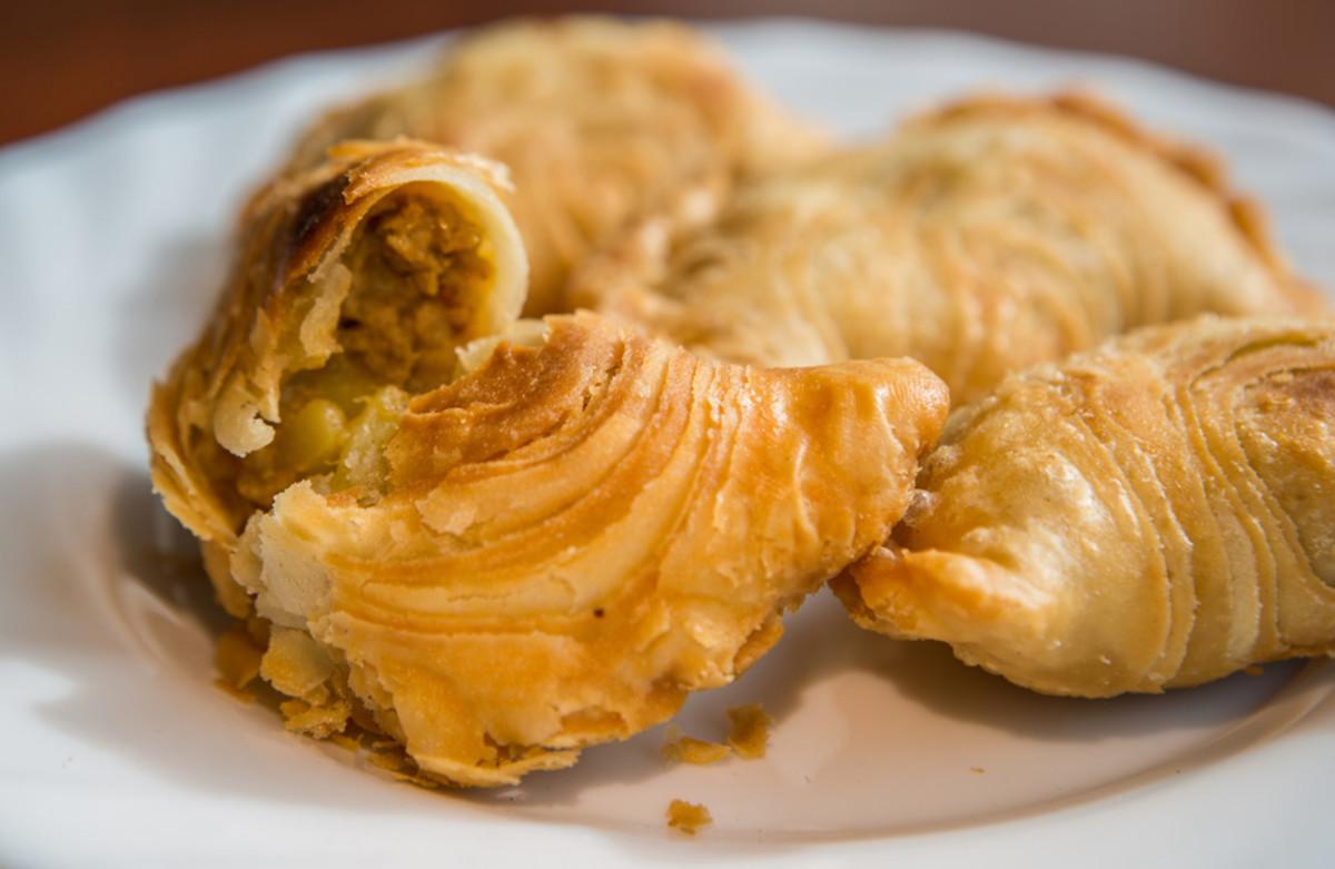 Malaysian Curry Puffs, a popular snack.  Image:  © akulamatiau - Depositphotos.com