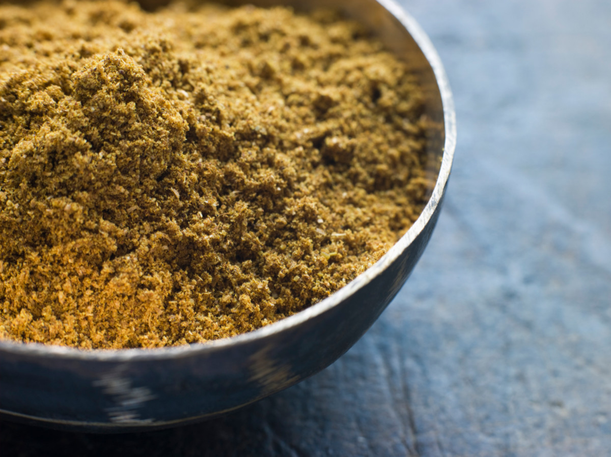 A dish of Madras curry powder. Image:  © monkeybusiness - Depositphotos.com