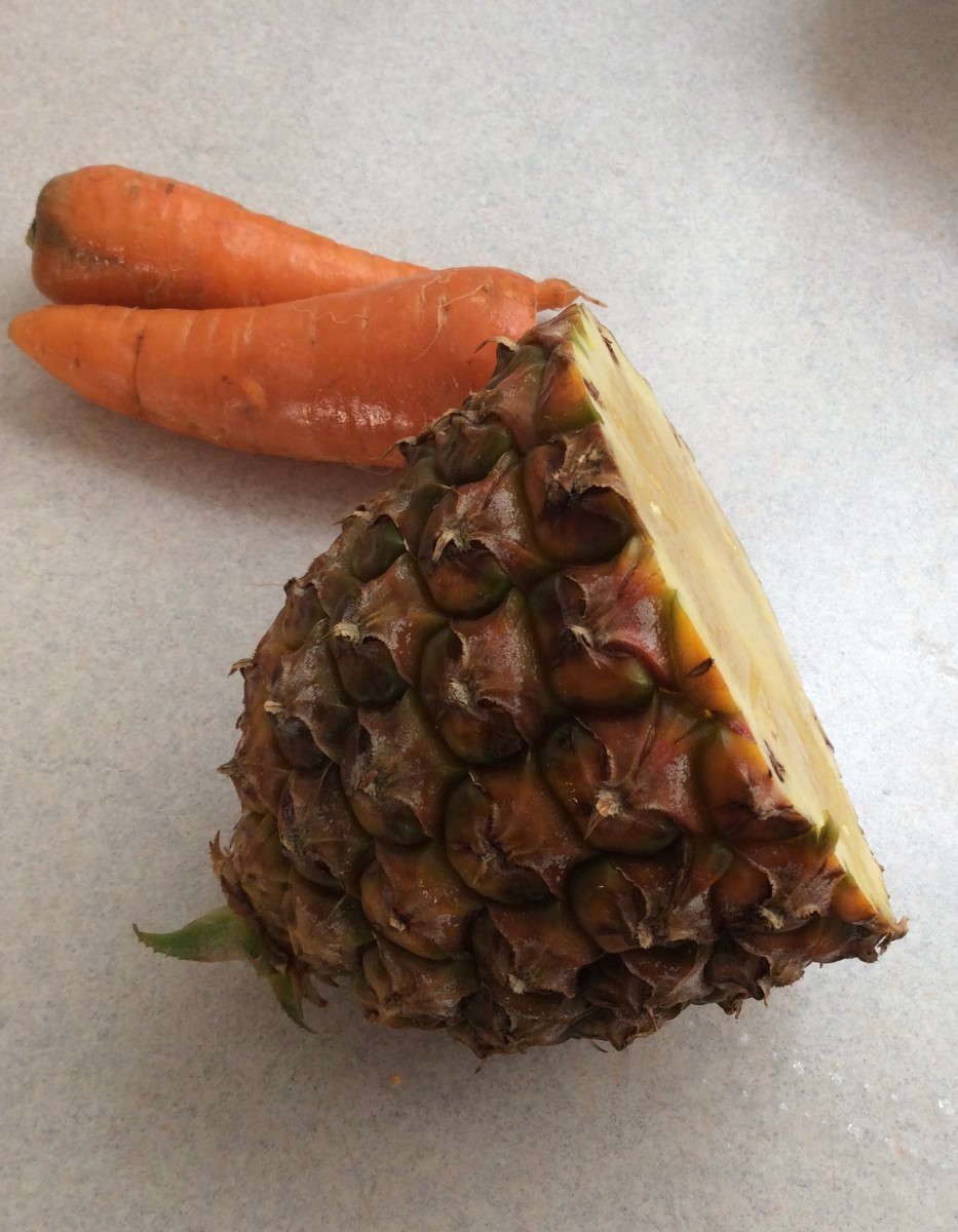 Use fresh pineapple and carrots for best flavor