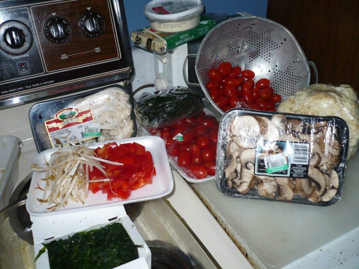 Simple ingredients makes the best dishes:)