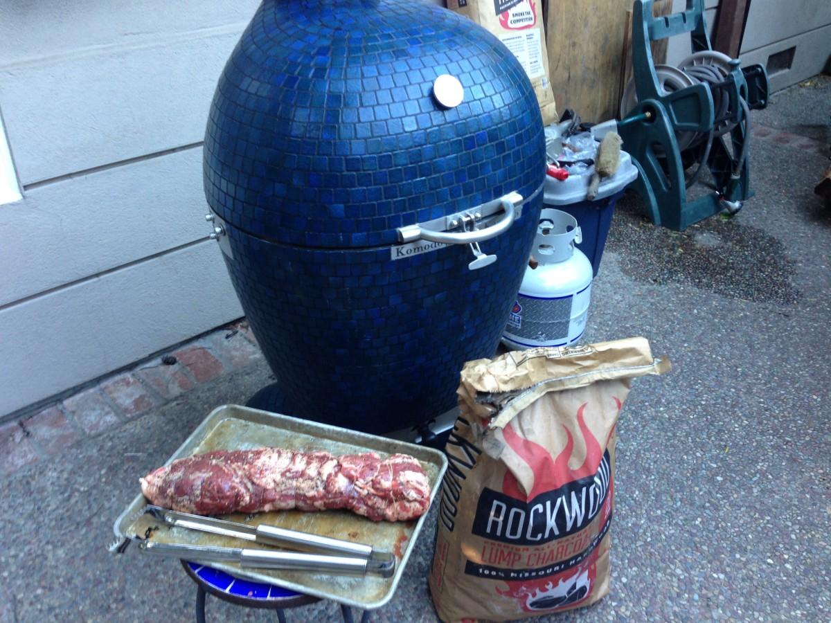 First cook on my Komodo Kamado Ultimate 23 (Beef Tenderloin)