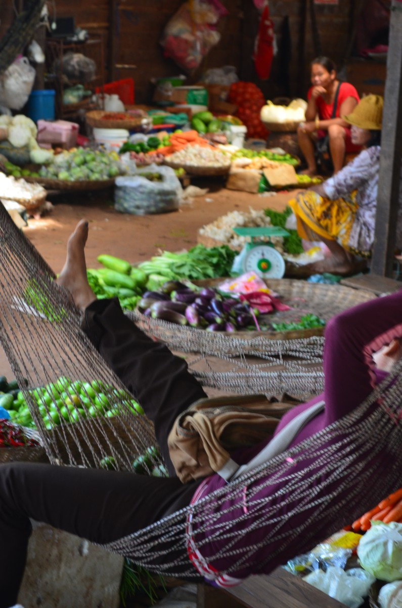 The pace of life in Halong Markets (c) A. Harrison