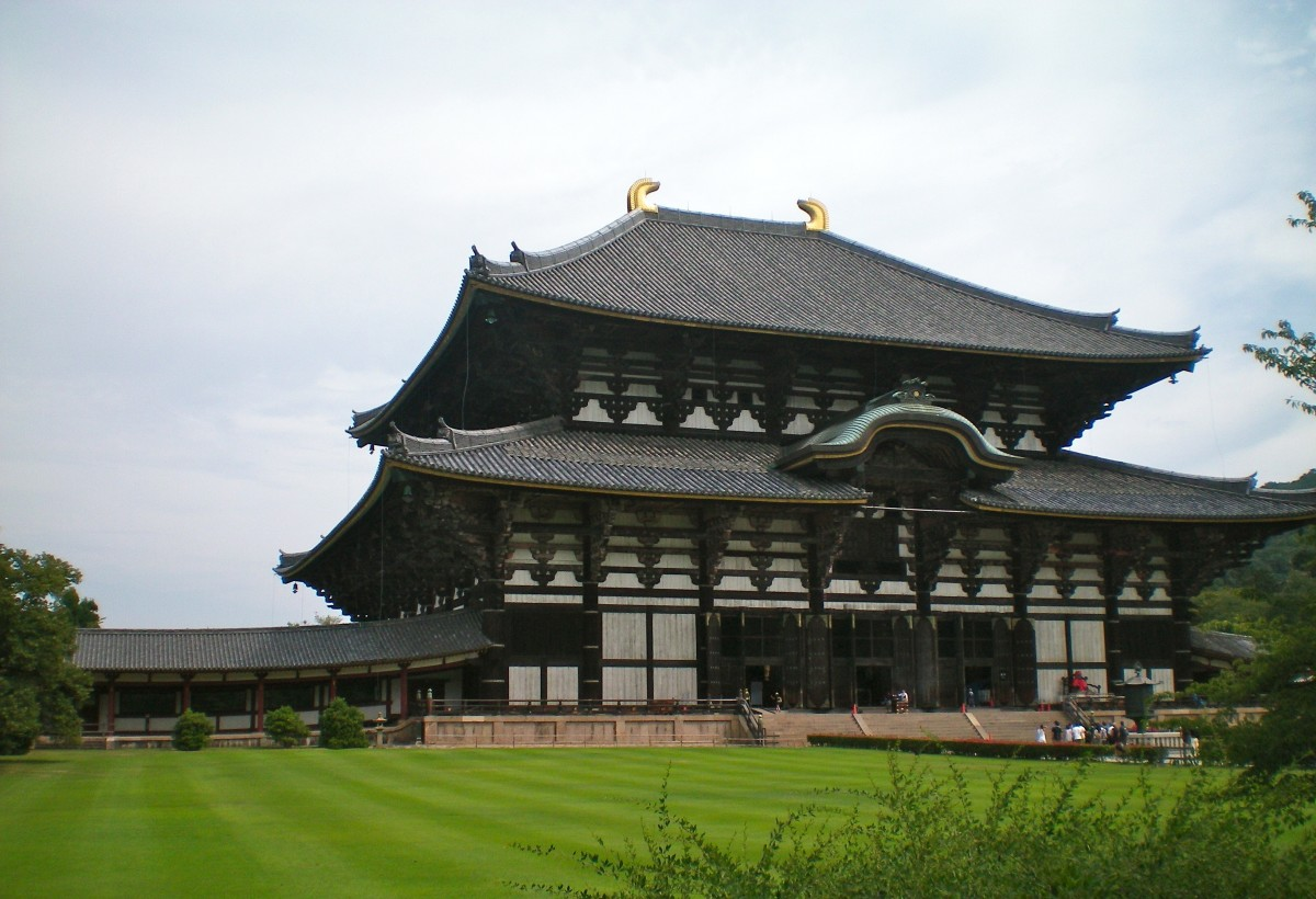 The Todai-ji temple (c) A Harrison