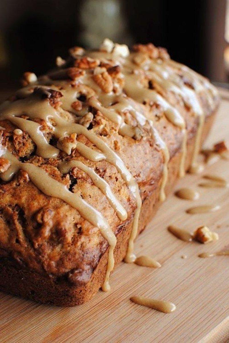 Carb Diva's pumpkin ginger loaf