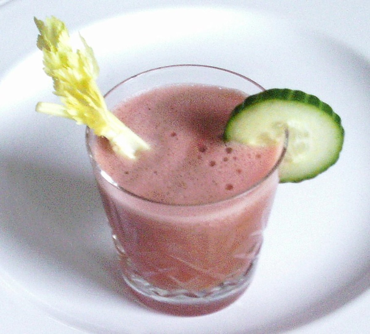 Super summer cooling cucumber and watermelon cocktail