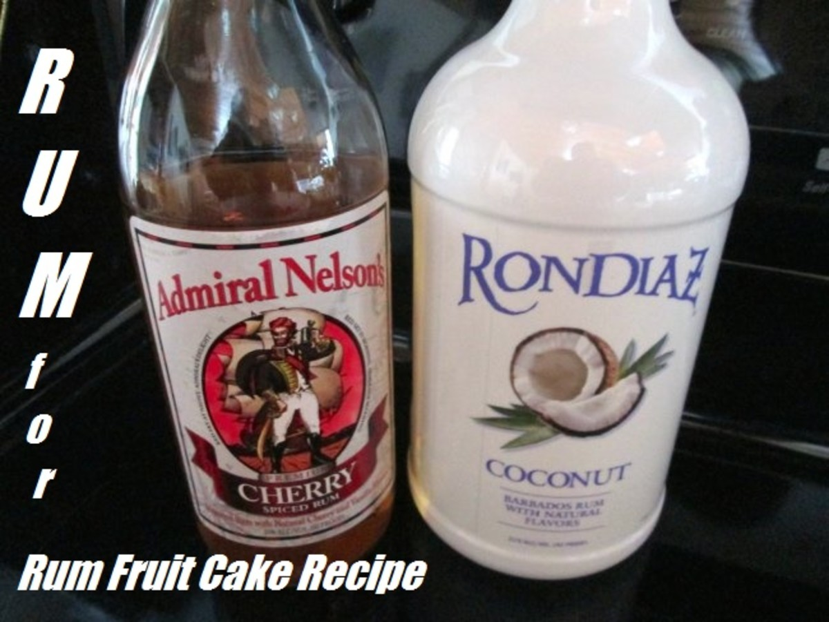 Admiral Nelson's Cherry Spiced Rum and Rondiaz Coconut Rum