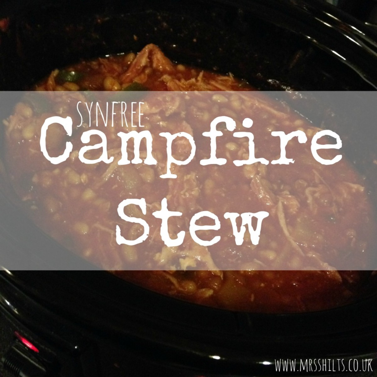 Syn Free Slimming World Campfire Stew