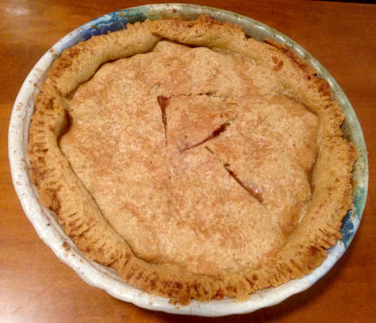 Farm Fresh Rhubarb Pie