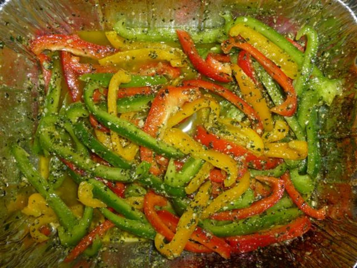 "Cook until the peppers are ""limp."""