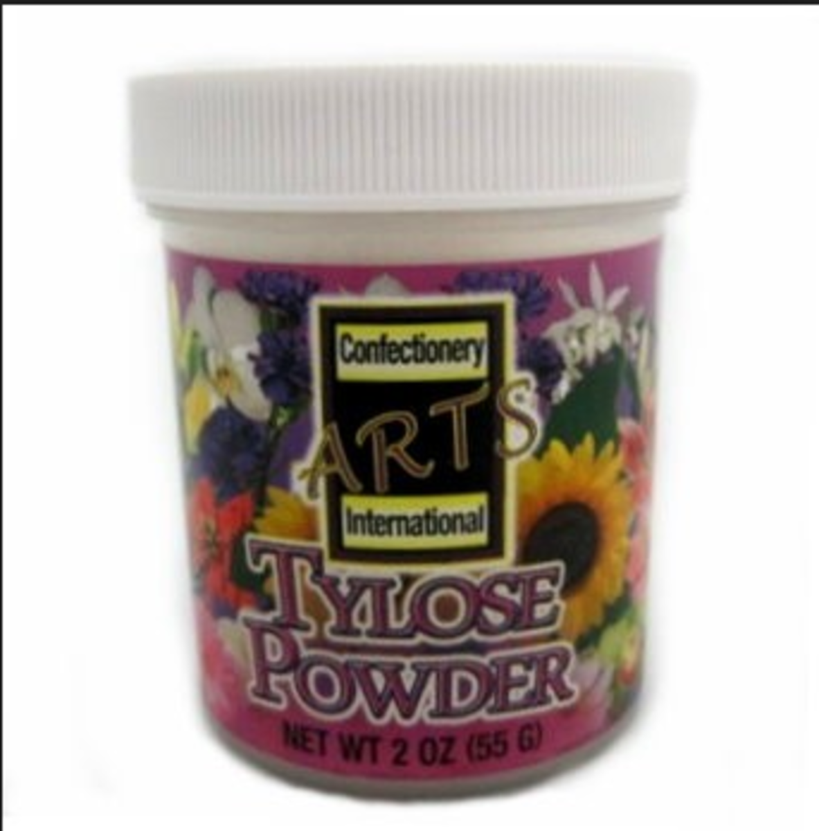 A tub of tylose powder.