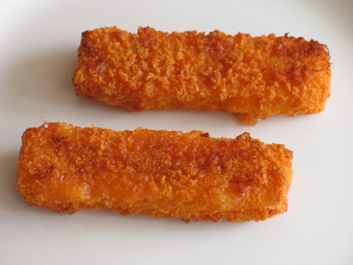 Health benefits of fish sticks fish fingers with baked for Healthy fish sticks