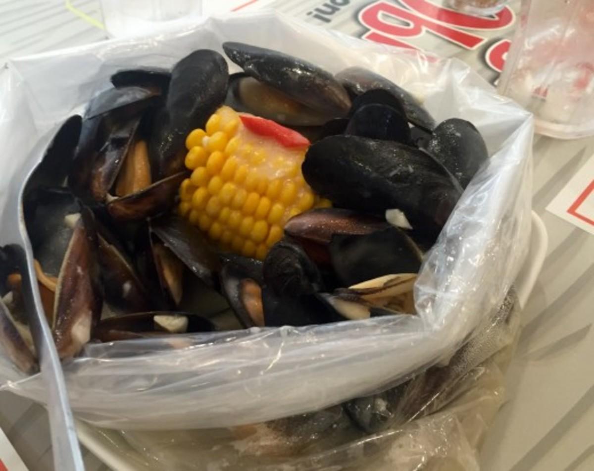 Mussels in a Bag