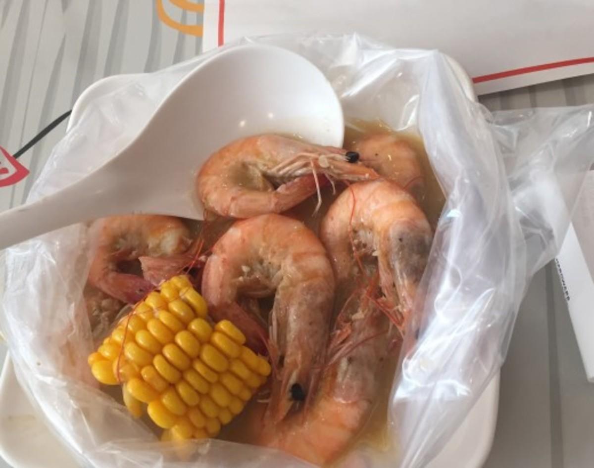 Shrimp in a Bag