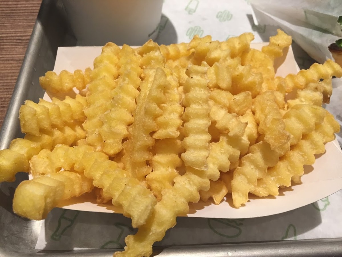 The French fries.