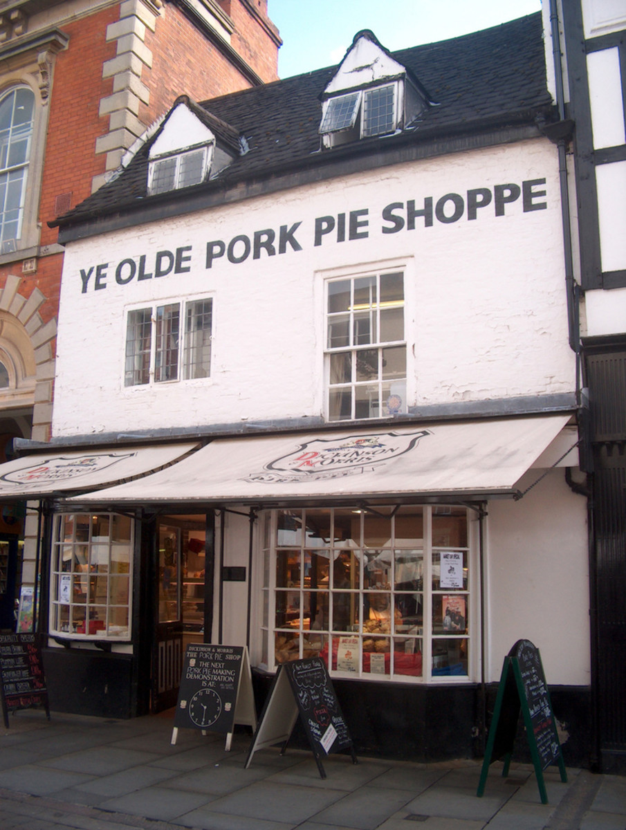 One of the last pork pie makers in Melton Mowbray.