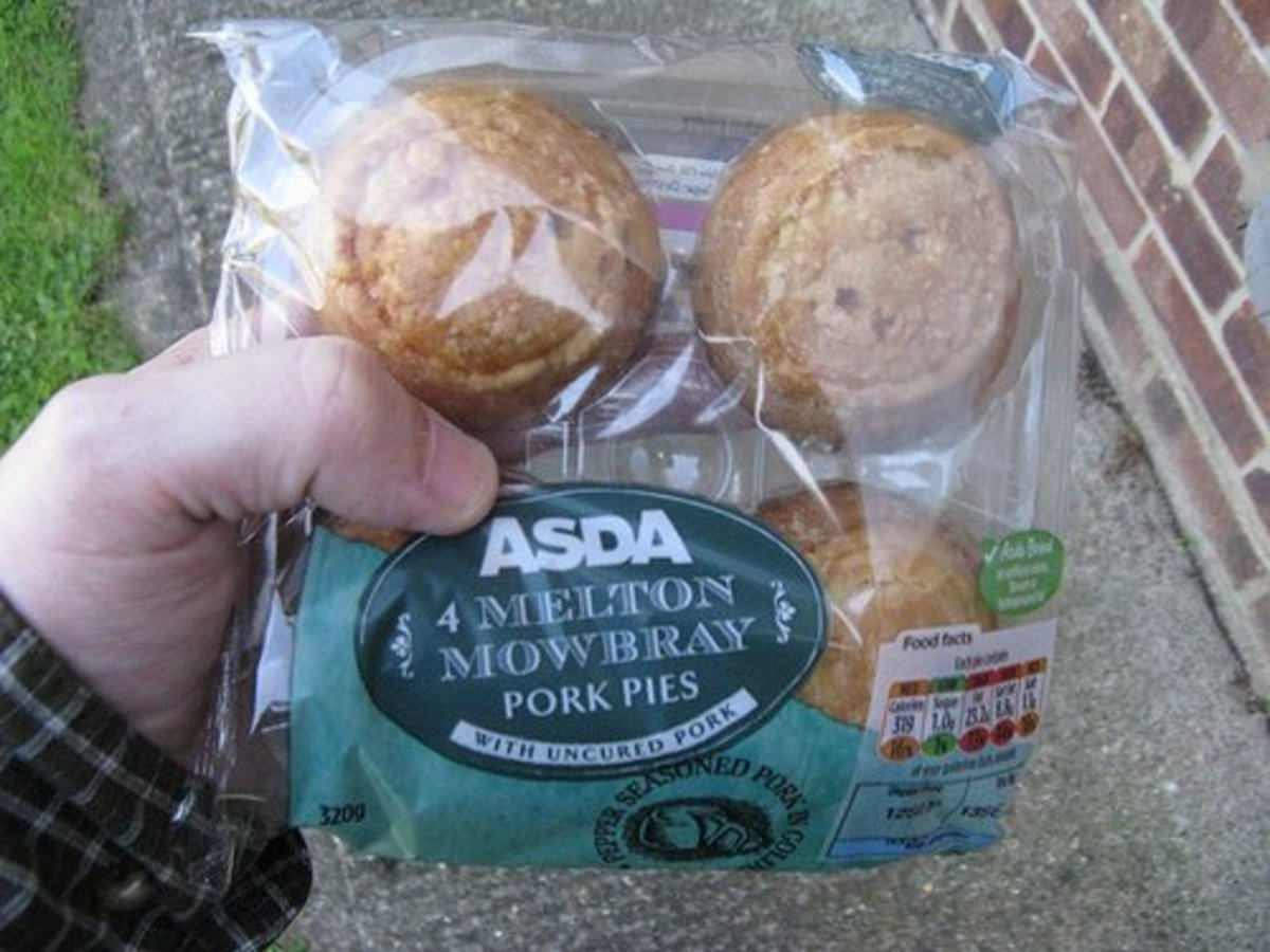 Fake pies. Mass produced and horrible.
